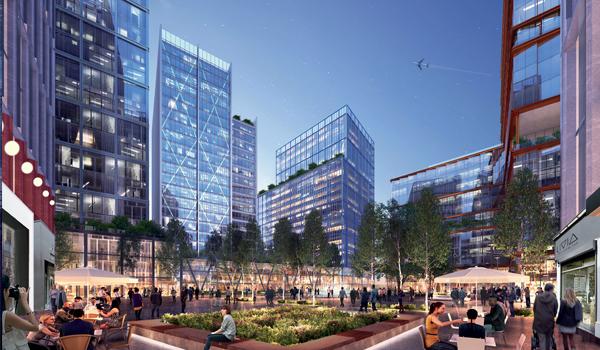 amazon's second headquarter Crystal City, Arlington, VA