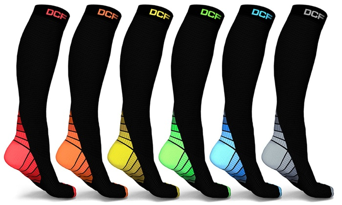 compression socks by color