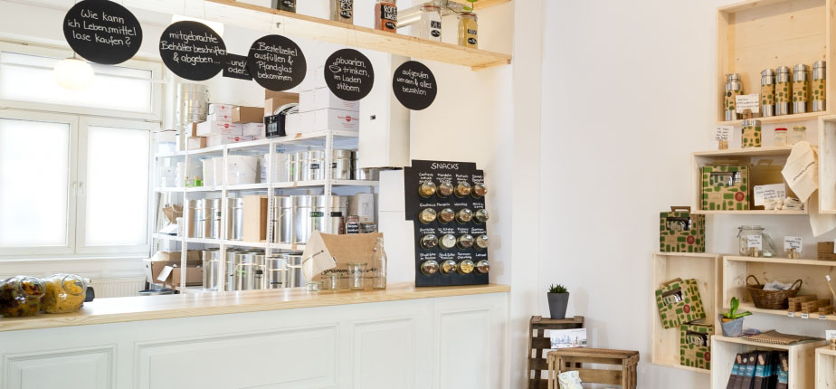 the gramm genau cafe setup